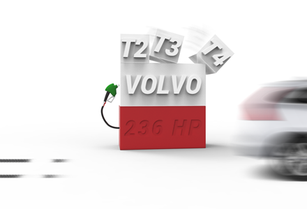 TUNING FOR NEW PETROL VOLVO´S (VEA)!